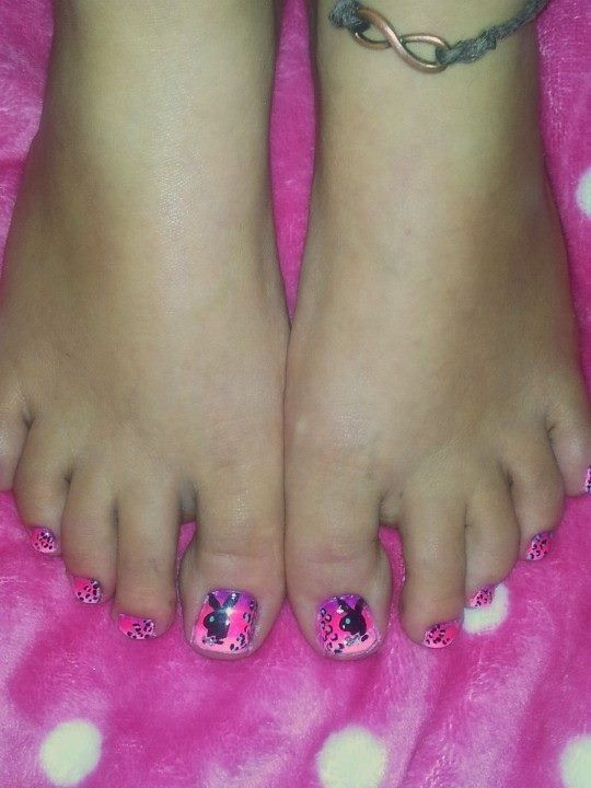 155 best playboy images on pinterest nail arts makeup and beach playboy bunny toenails toe nail designsnails prinsesfo Image collections