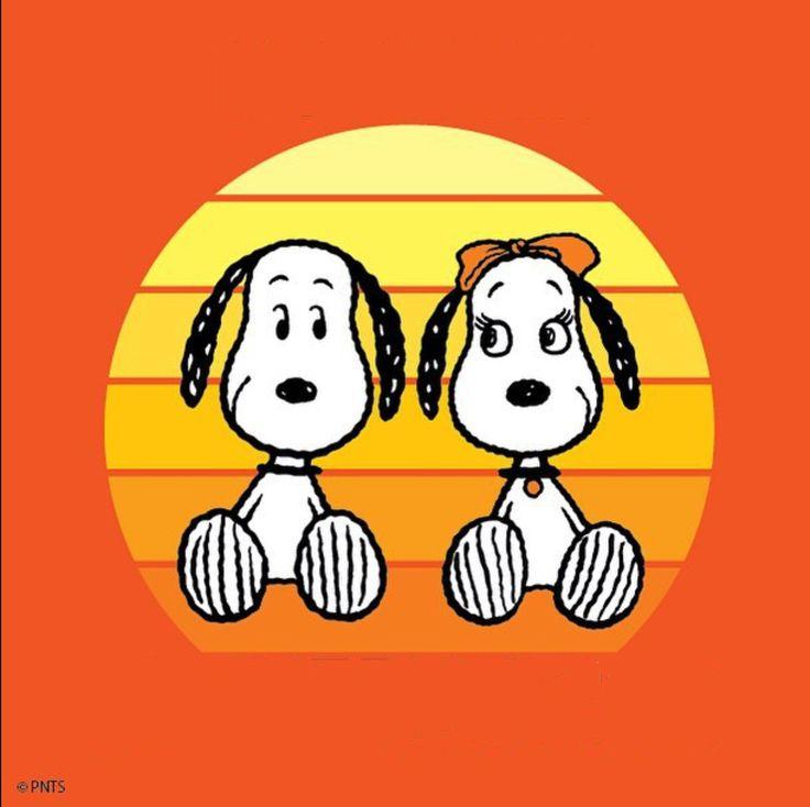 SNOOPY & GIRLFRIEND!  -  Pinned 12-4-2016.