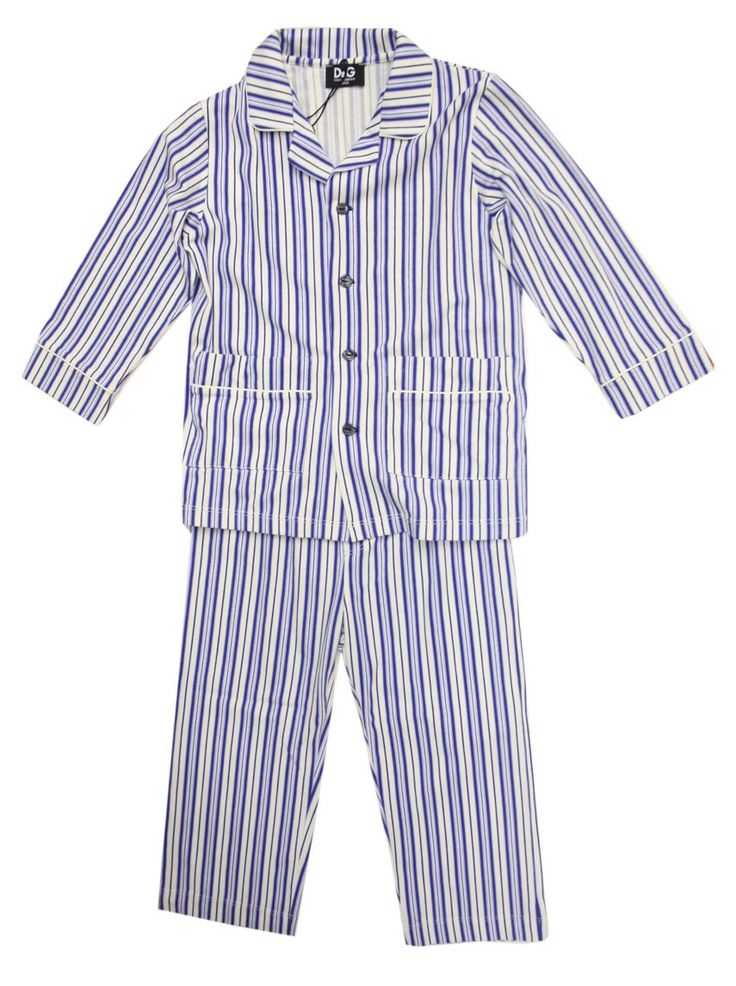Striped toddler pjs perfect for Jameson polar express party
