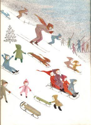 Where does Everyone Go? - illustrations by Adrienne Adams