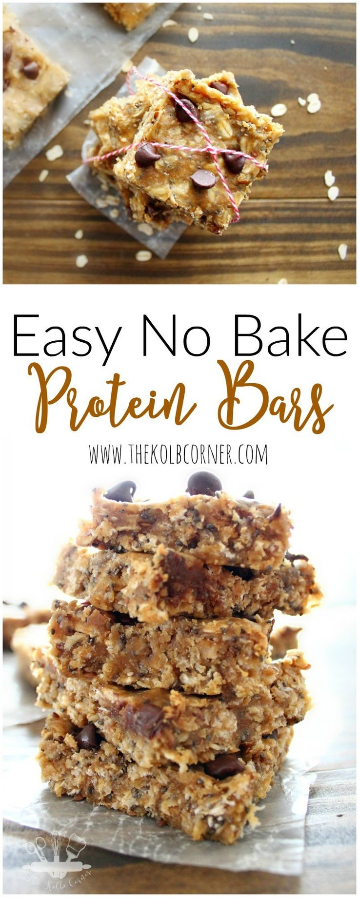 Here's a recipe for no bake protein bars that are packed with enough protein to give your body the boost it needs, while satisfying the sweetness you crave.