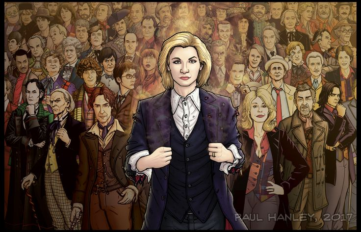 The Infinite Doctor (regenerated edition) by PaulHanley.deviantart.com on @DeviantArt