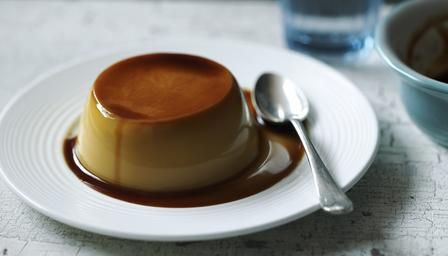 Mary Berry's Classic crème caramel (The Great British Bake Off, series 3)