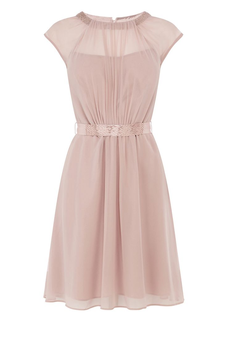The ionia short dress features a sheer bodice lined with a for Cinched waist wedding dress