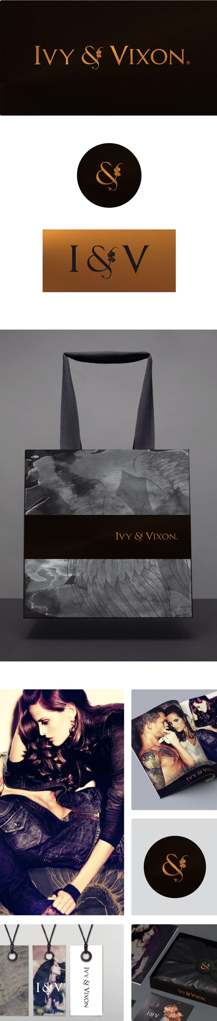 Ivy + Vixon - Clothing label brand development