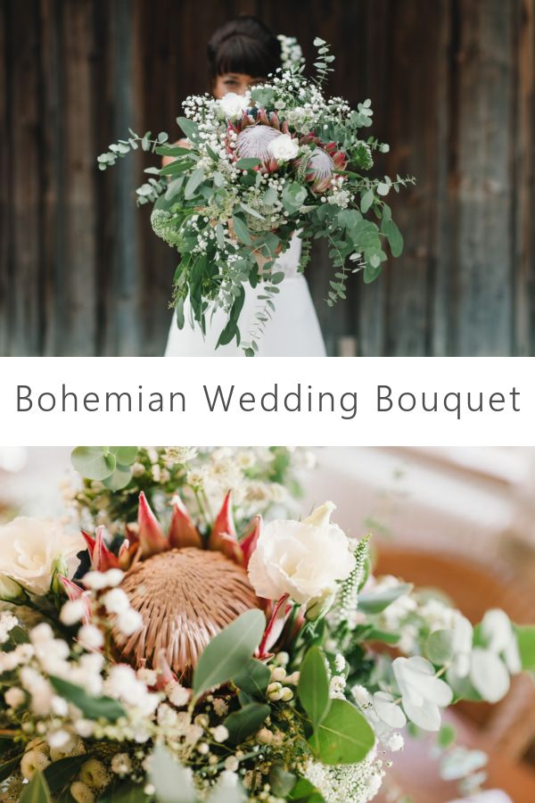 A wild and romantic bridal bouquet for a romantic boho-summer wedding. (Flowers: @wildflowerstgt / Picture: http://blog.melanie-metz.de)