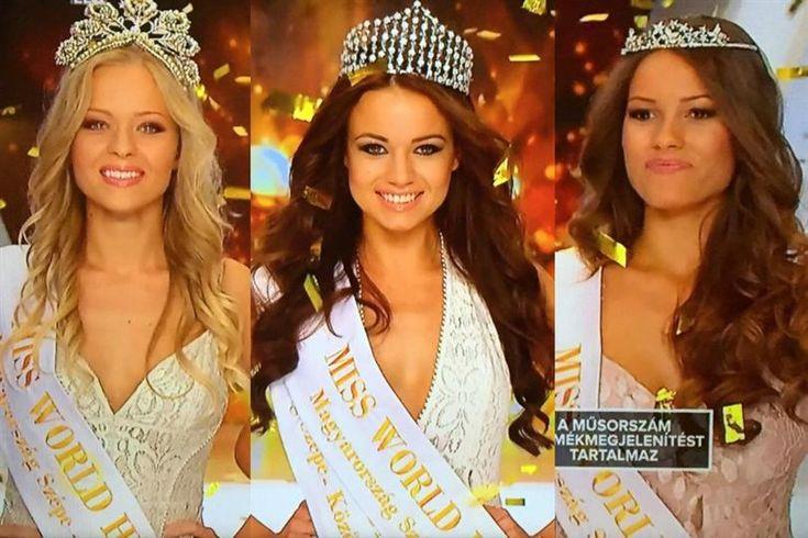 Daniella Kiss is Miss World Hungary 2015