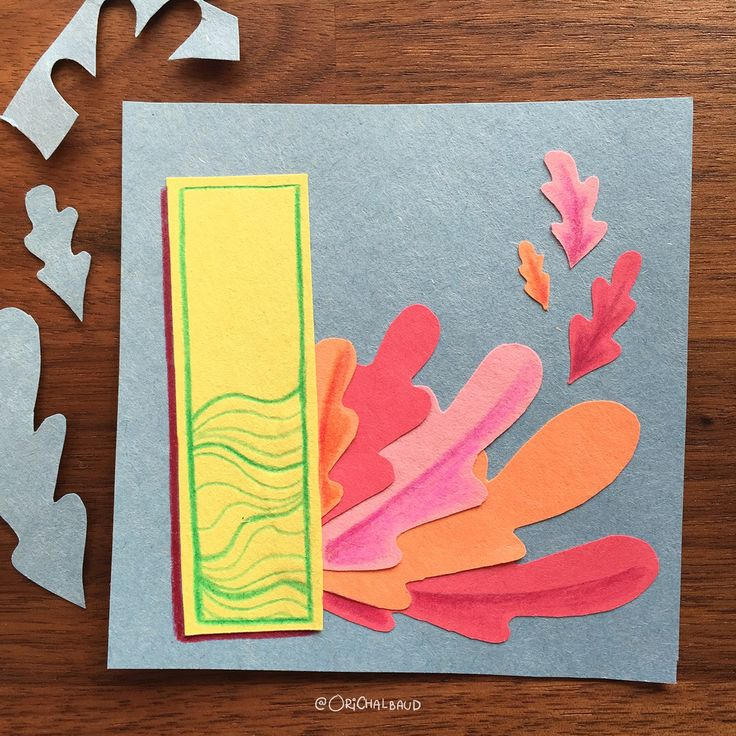 Letter I!. This is part of a paper art type I'm making for 36 days of type and also part of my 100 days project about paper art! :)