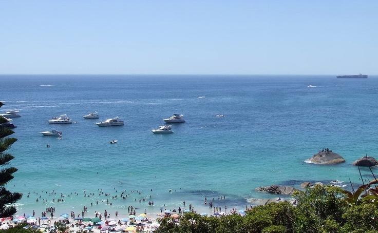 Gorgeous hot day @ Clifton Beach.