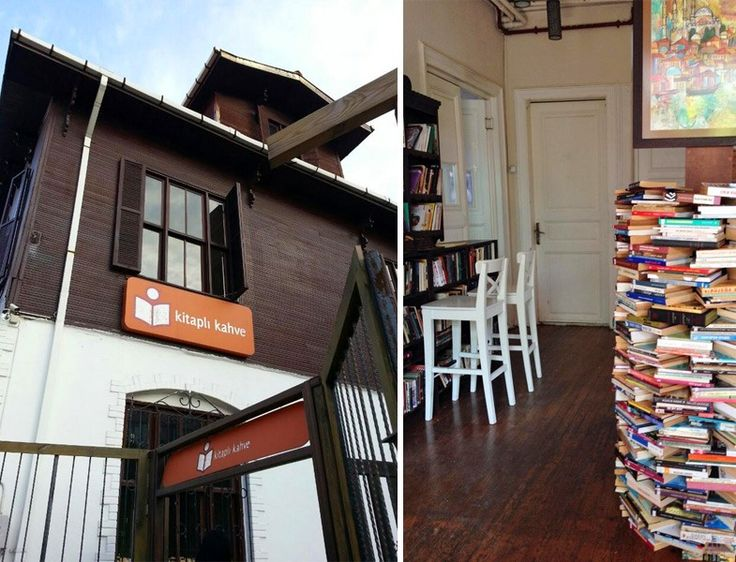 Alkolsüz Mekanlar -  Kitaplı Kahve http://www.yesiltopuklar.com/istanbulun-en-iyi-10-kitap-kafesi.html
