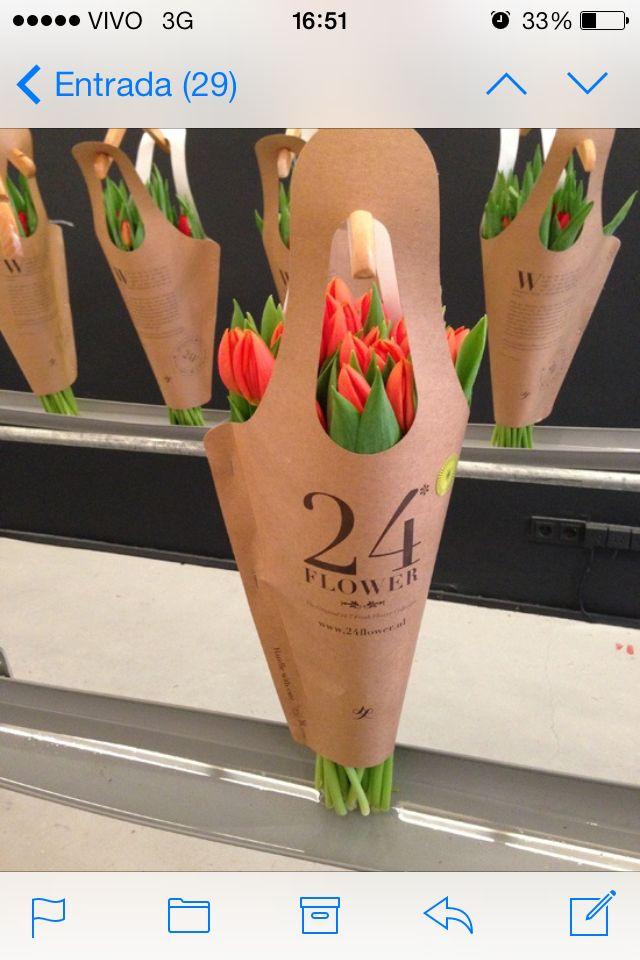 Embalagem para bouquet