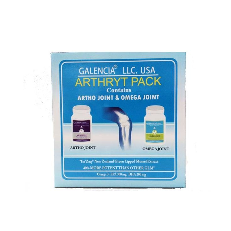 Galencia LLC.USA Arthryt Pack - Artho Joint & Omega Joint:  Loss of Mobility, Knee replacement, Mild or severe pain in joints,  Inflammation, Joint swelling, Early morning stiffness #galencia #arthrytpack #arthritis #jointpain Shop Now: http://www.buydirekt.com/galencia-arthryt-pack