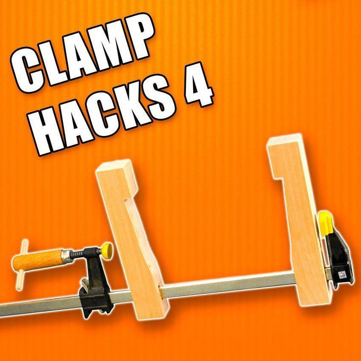 5 Life Hacks for Clamps Part 4 / Woodworking Tips and