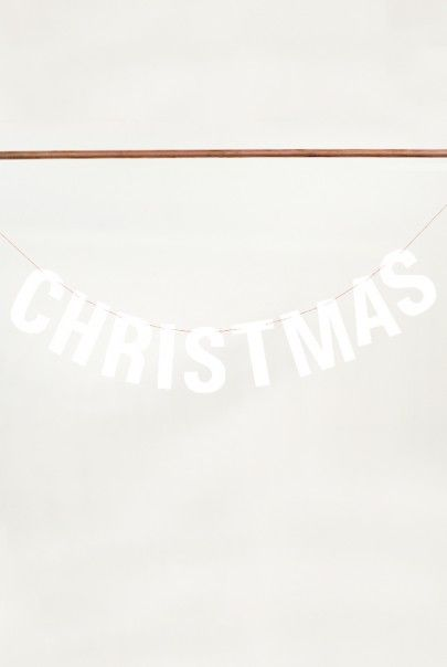 O-CHECK - Christmas Bunting - Merry Christmas Message Available from NoteMaker.com.au