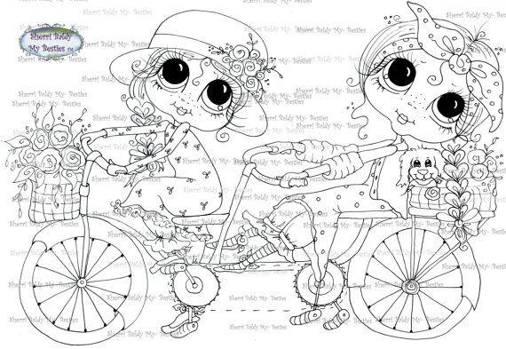 Download imediato Digi selos Olho grande Big Head Dolls Digi Bestie img0592 por Sherri Baldy