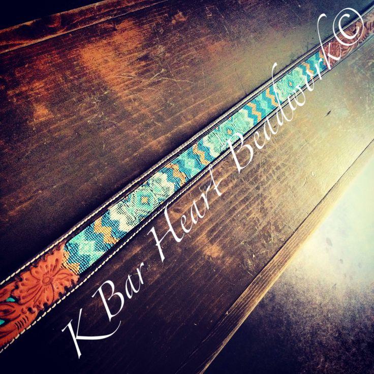 cowboy beaded belt k bar beadwork www