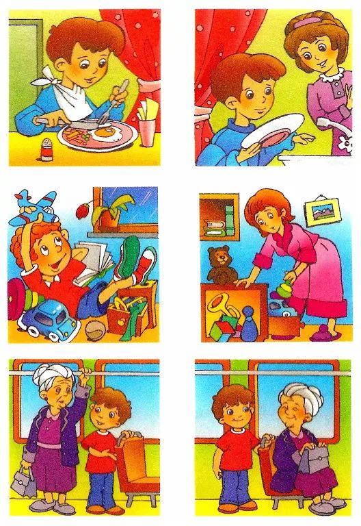 Картинки для детей с плохими поступками детей