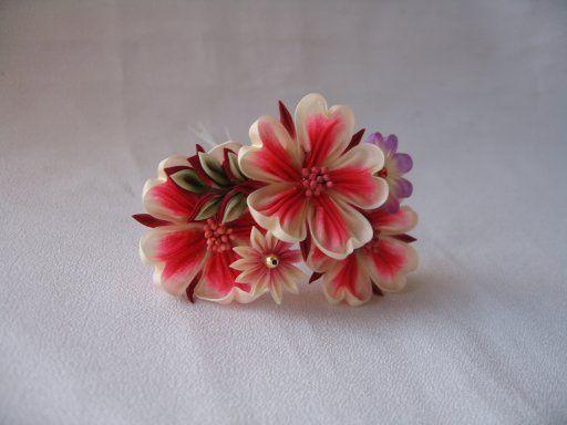 イメージ2 - 桜3輪の画像 - 和の結婚式~江戸つまみかんざし~ - Yahoo!ブログ