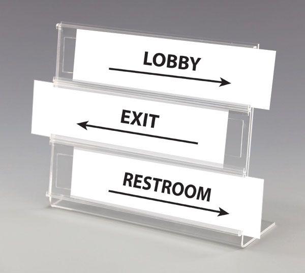 Multi Slot Acrylic Name Plate Holder Desk Name Plate Holder Multi Tier Plate Holder Desk Name Plates Name Plate
