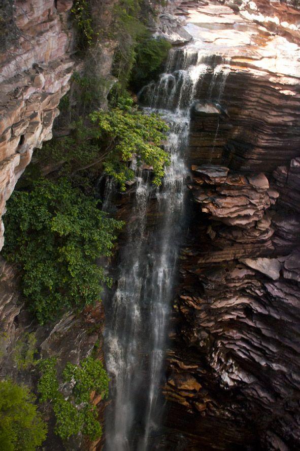 Brasil: as 15 cachoeiras mais bonitas do país - Buracão - (Chapada Diamantina, Bahia)