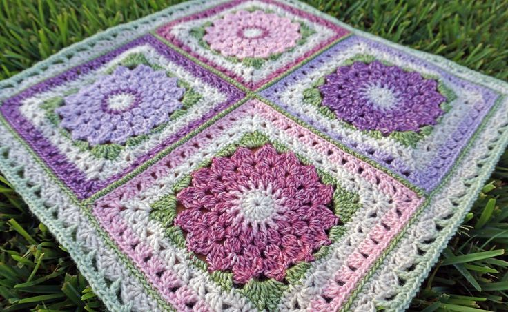 2nd inning granny squares blanket patterns and ravelry