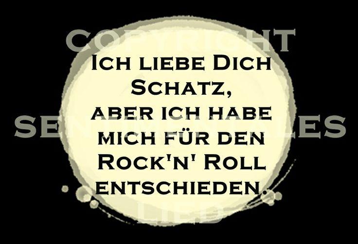 Postkarte | Rock 'n' Roll von sentimentaleslied auf DaWanda.com