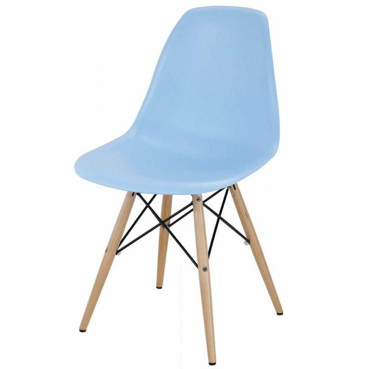 Desk chair Eames Side Chair Light Blue