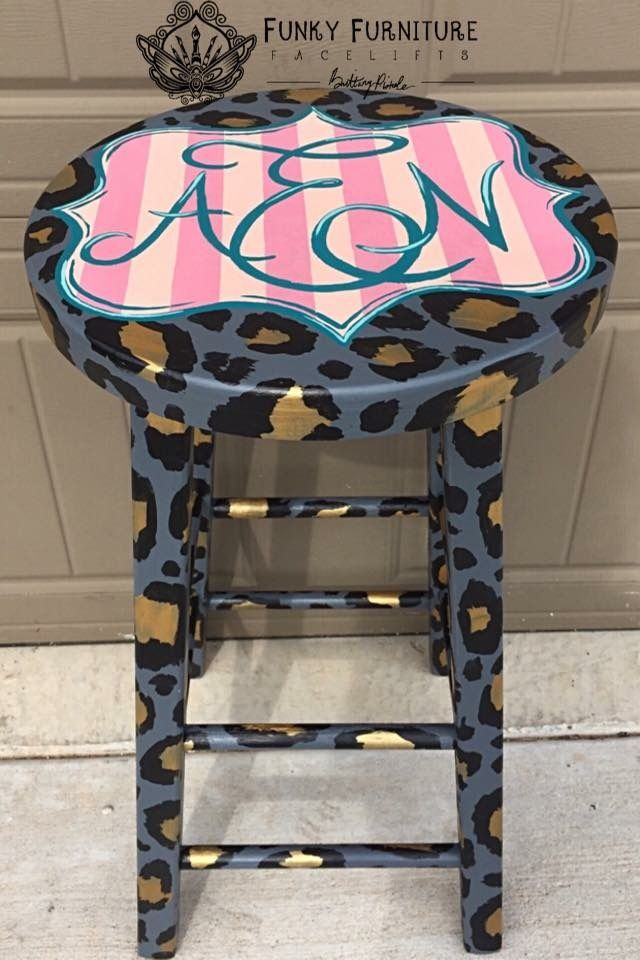 Funky Painted Furniture Chairs Ideas Cool Diy Stuff