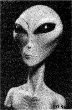 "Grey aliens (also referred to as ""Roswell Greys"", ""Greys"" or ""Grays"") are alleged extraterrestrial beings whose existence is promoted in ufological, paranormal, and New Age communities, and who are named for their skin color. Around half of all reported alien encounters in the United States describe Grey aliens. Such claims vary in every respect including their nature (ETs, extradimensionals, demons, or machines), origins, moral dispositions, intentions, and physical appearances (even va"