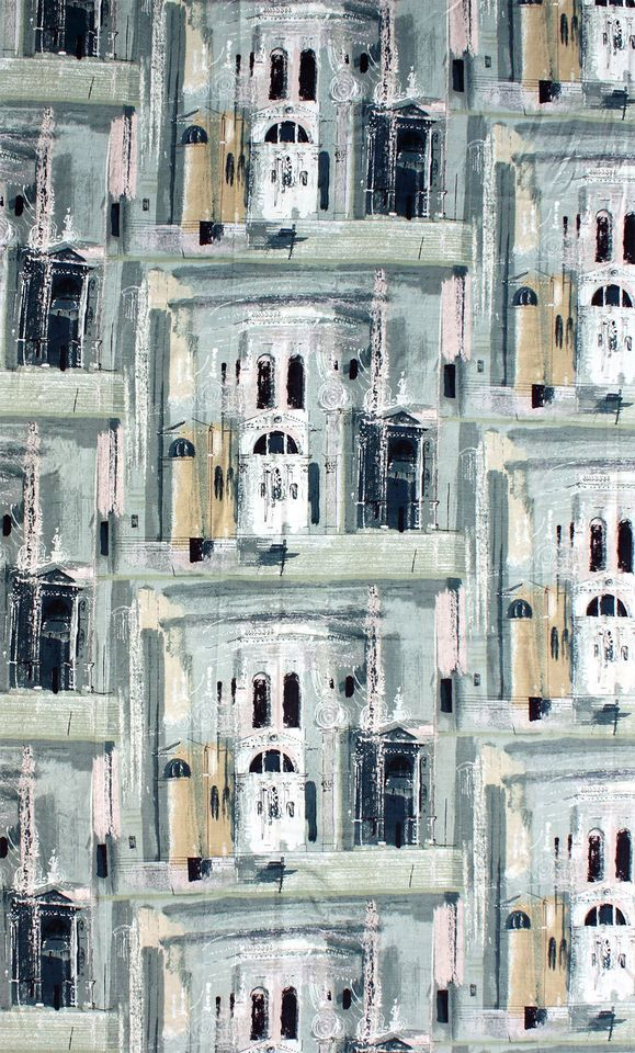 John Piper, Chiesa della Salute, 1959, Arther Sanderson & Sons Ltd