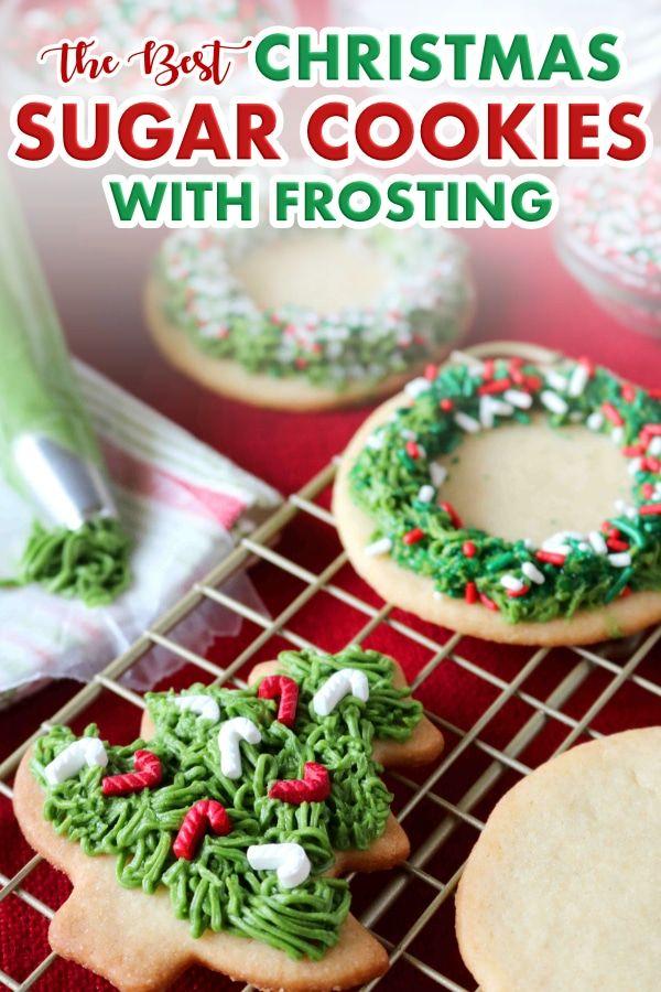 Iced Sugar Cookies Recipe The Anthony Kitchen\u0027s Big Pin Board