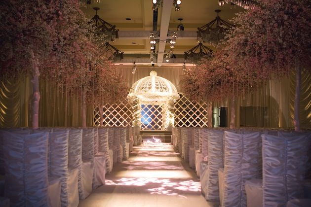 Unique Wedding Ceremony | ... decor inspiration from these weddings ideas for indoor ceremonies