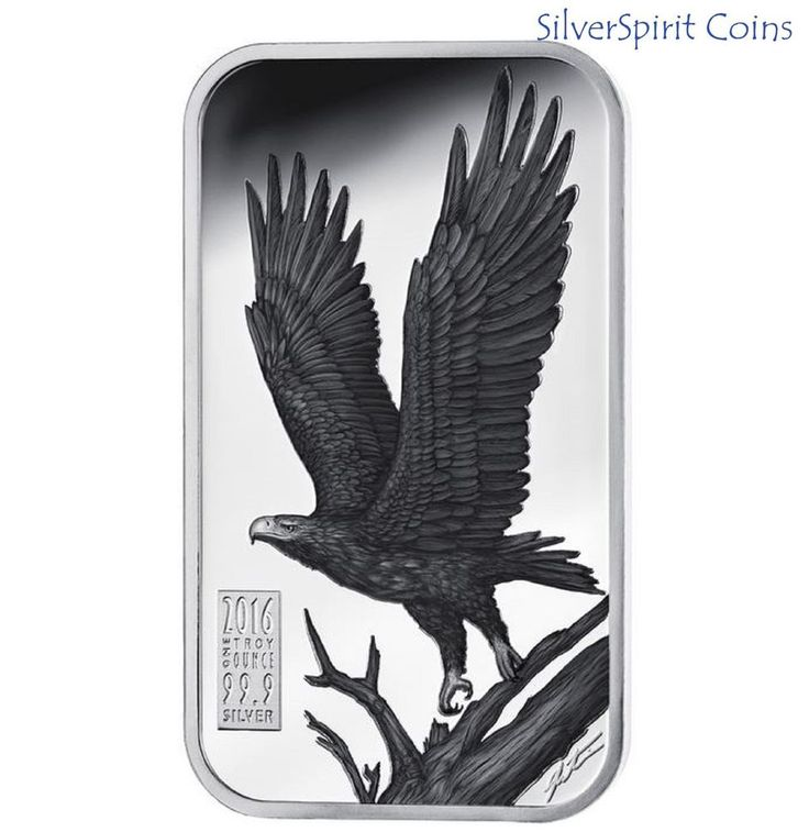 2016 APEX PREDATORS WEDGE TAILED EAGLE 1oz Silver Proof Coin