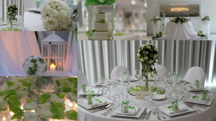 Le tonalità del verde Una mini wedding cake a tema come cadeau mariage Sfera di fiori a centrotavola