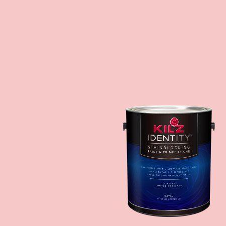 Kilz Identity Interior/Exterior Stainblocking Paint & Primer in One #LA150-02 Australian Shiraz, 1 gallon