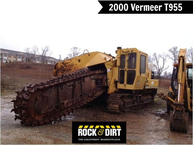Our Featured Trencher Is A 2000 Vermeer T955 30 Chain