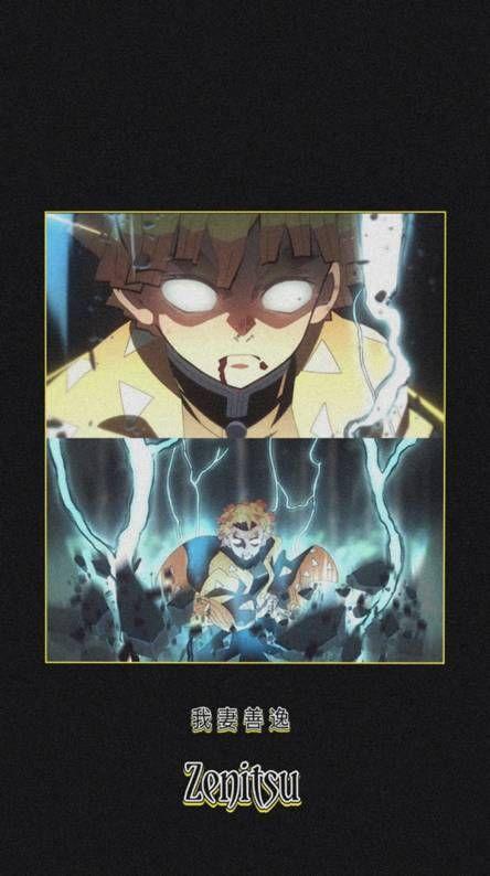 Zenitsu Animes wallpapers, Anime estético, Anime