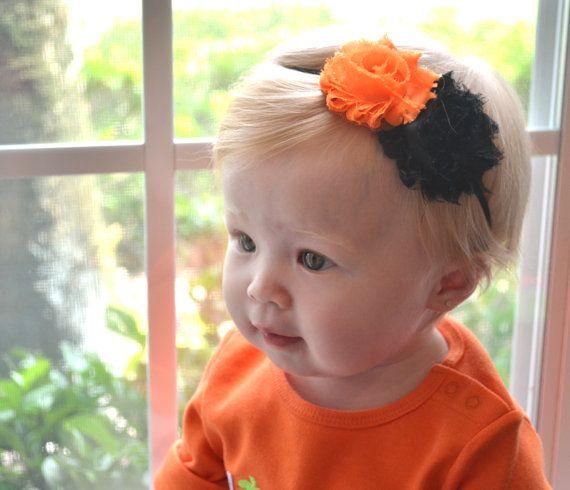 Halloween Baby Headband Toddler Headband. by AubreyGianna on Etsy, $6.99