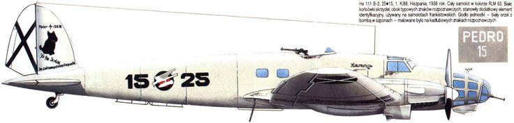 "He 111 B-2.1.K/88 Hispania ""Legion Condor"" 1938."