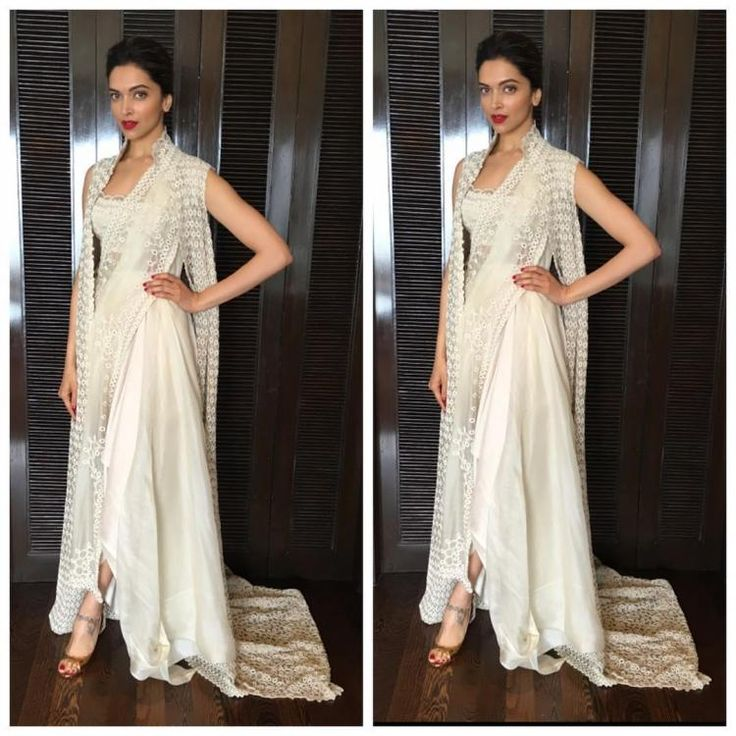 Oh my! Deepika wears her saree with a twist and we are dazzled | PINKVILLA