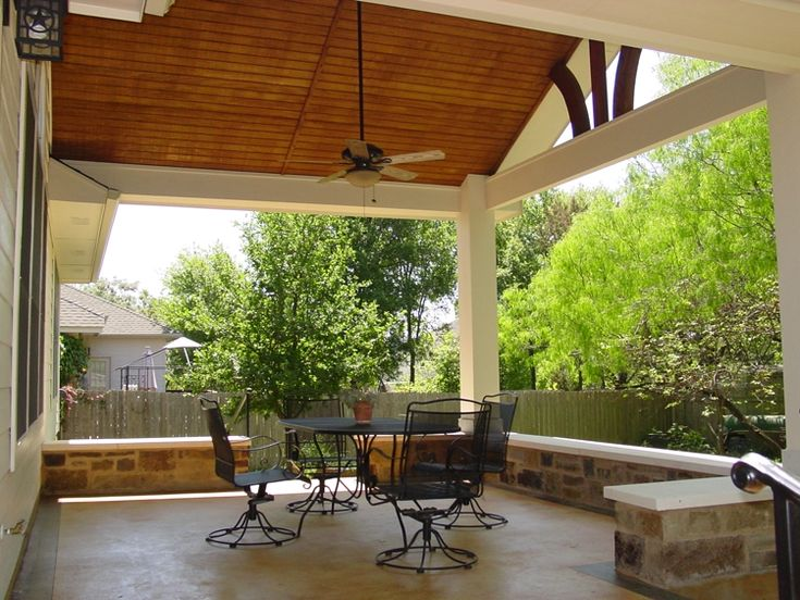 17 Best images about Patio covers on Pinterest   Outdoor ... on Detached Covered Patio Ideas id=55084