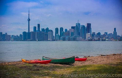 T.O. | Flickr - Photo Sharing! Toronto Skyline.  Viewed from Ward's Island.