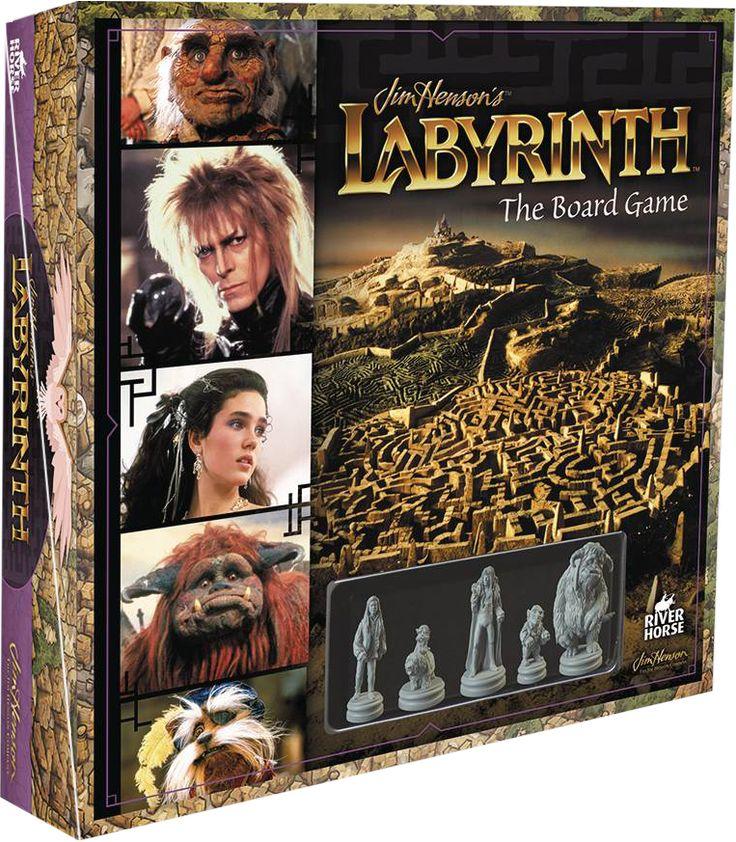 Labyrinth Board Game | Riverhorse | Popcultcha