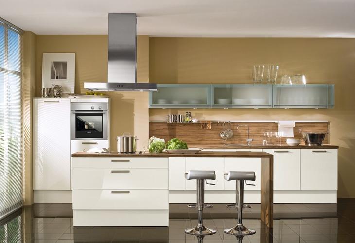 Küche in Weiß #Kücheninsel #Wohnküche wwwdyk360-kuechende VERY - kücheninsel mit theke
