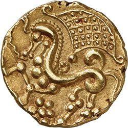 Münze der Pariser, Gallien. Dieser keltische Stam…