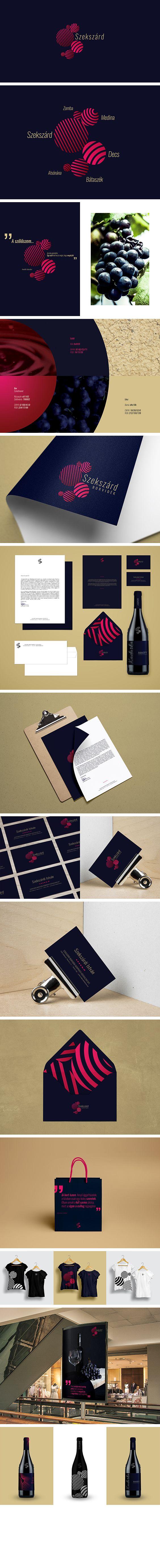 Szekszard Wine Region Branding Concept by ZIIJN https://ziijn.myportfolio.com