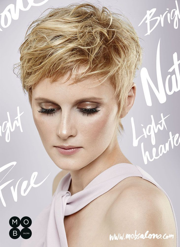 Etheral SS15 Collection by Mob Salons #blonde #undone #antiglamour #short #hairstyle