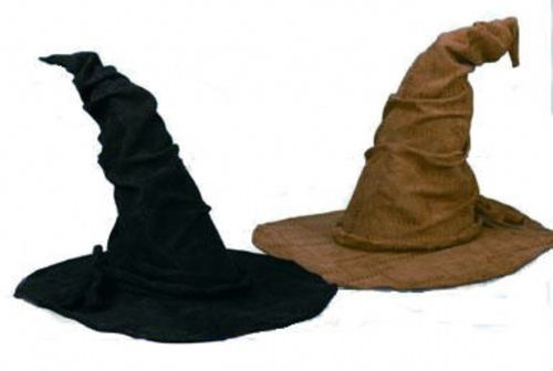 Sorcerer Costume Hat - These sorcerer hats are made with a soft faux suede material and have a wired brim to keep shape. Makes a great accessory for an authentic wizard look. Now work your magic. #witch #harrypotter #yyc #halloween #costume #hat