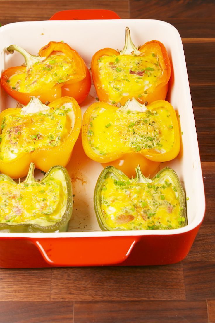 70 Delicious Ways To Cook An Egg Stuffed Peppers Peppers Recipes Bell Pepper Recipes