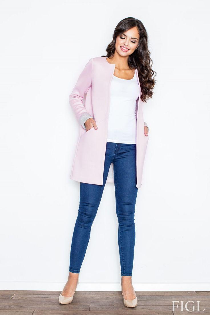 https://www.mokado.pl/Plaszcz-Damski-Model-M366-Light-Pink-p17589 #plaszcz #mokado #odziez #fashion #trendy #style #moda